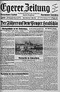 Velkou událost i pro Chebské samozřejmě představoval Hitlerův triumf na Pražském hradě.