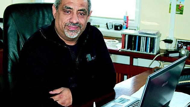 Ladislav Bílý, předseda Romského občanského sdružení Karlovy Vary