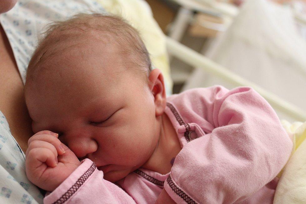 Sára Mašková zRadkovic se narodila vklatovské porodnici 17. září ve 4:38 hodin (3950 g, 52 cm). Rodiče Lucie a Alex věděli dopředu, že jejich prvorozeným miminkem bude holčička.