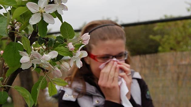 S PŘÍCHODEM jara začíná alergikům trápení.