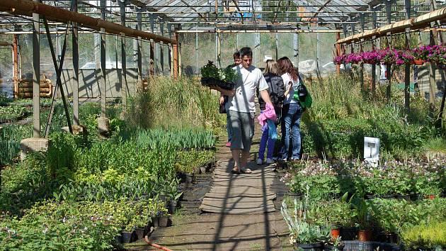 Zahradnická akce v Teplé