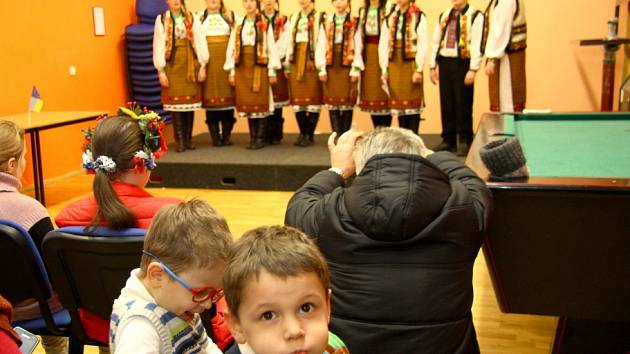 Až z dalekého Lvova z Ukrajiny přijel dětský hudební sbor Namysto, který je znám nejen v Evropě, ale i ve světě.