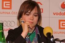 MFF vycházející hvězda Ellen Page.