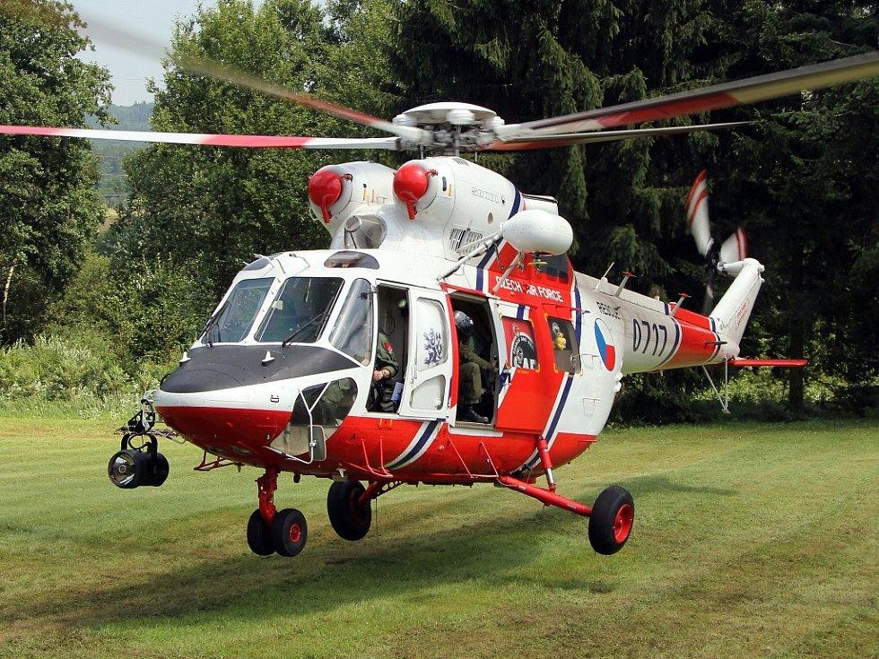Vrtulník W-3A Sokol.