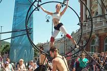Jednou z mála akcí, která v létě potěšila, byl Karlovarský karneval.