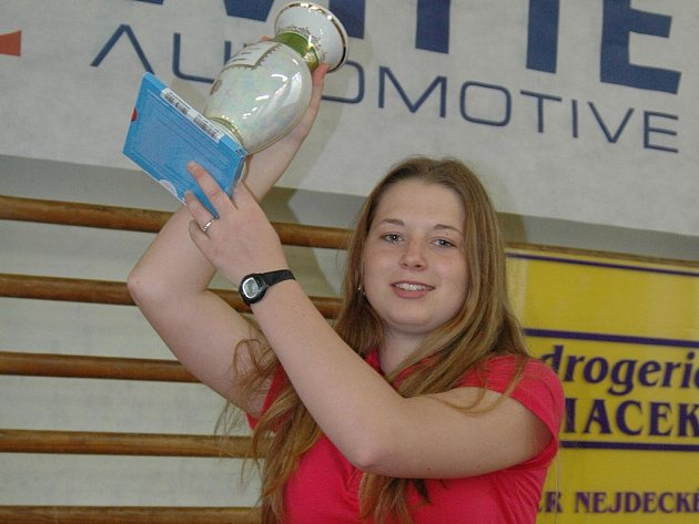 Historicky první nejdeckou vítězkou THUN Cupu se stala devatenáctiletá Marcela Nesvedová.