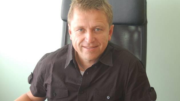 Ostrovský starosta Pavel Čekan.