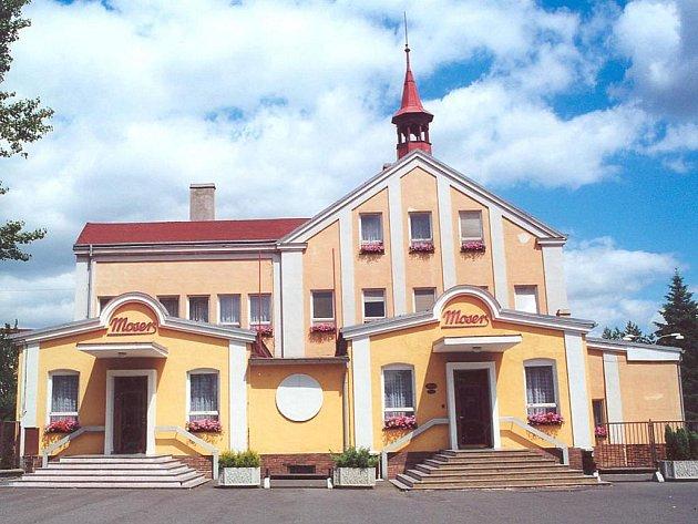 Sklárna Moser v Karlových Varech.