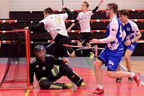 Národní liga, florbal: FB Hurrican K. Vary - FBC Plzeň 7:2.