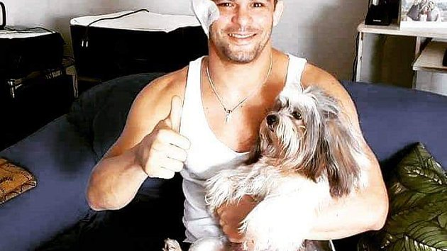 Brazilský bojovník MMA Charles Andrade