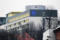 Karlovarská nemocnice.