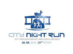 Night run City triathlon 2016
