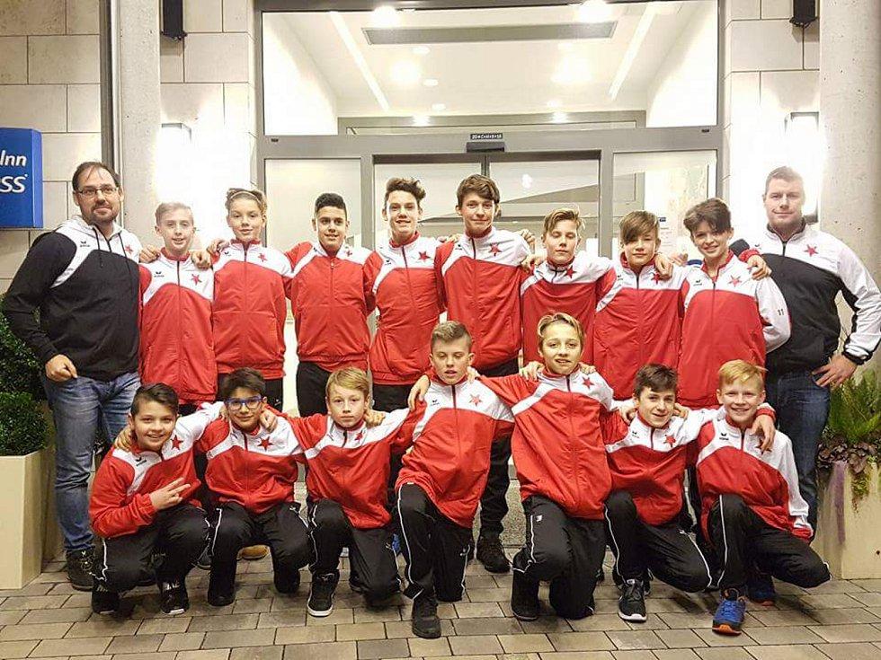 Karlovarská Slavia dosáhla na turnaji v Norimberku na první a páté místo.