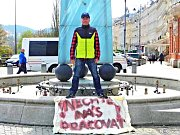 Fiakristé v Karlových Varech protestovali proti rozhodnutí magistrátu.