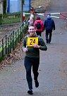 Štědrovečerní běh přilákal několik desítek nadšenců, nejrychlejším běžcem, který dorazil do cíle, byl Radek Krummer z karlovarského Triatletu.