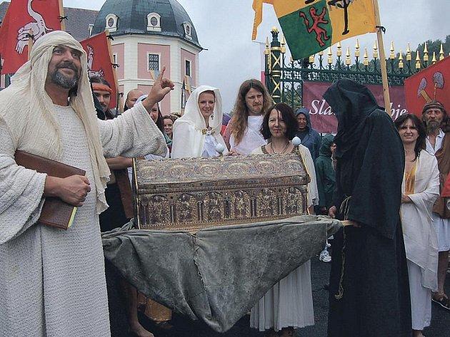 Relikviář svatého Maura v Bečově nad Teplou si v sobotu prohlédnou také první dámy čtyř prezidentů, kteří se sejdou v Karlových Varech na summitu V4. (Ilustrační foto.)