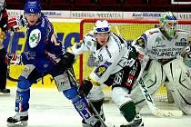 Zápas play out mezi karlovarskou Energií a Kladnem.
