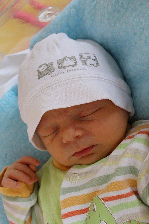 Dominik Říha z Pel se narodil 7. srpna