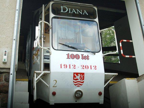 Lanová dráha Diana slaví sto let.