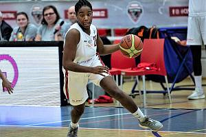 Basketbalistka BS DSK Basketball Nymburk KV Jordan Reynolds