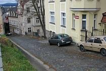 Vyšehradská ulice.