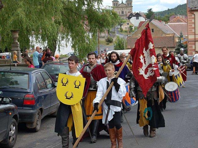 Oslavy 850 let Chyše.