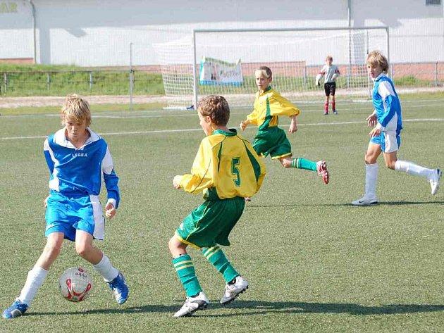 Mladší žáci v zápase se stejně starým celkem Kladna dostali velkou lekci.