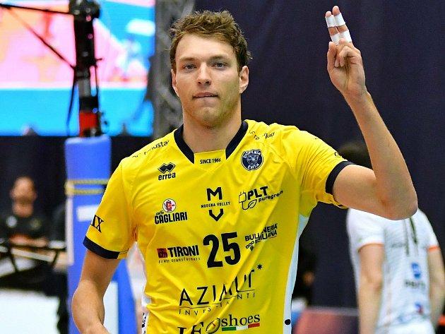 Wessel Keemink se již vKarlových Varech představil, když vrámci prestižní Ligy mistrů tvrdil vKV Areně volejbalovou muziku vtrikotu italské Modeny.