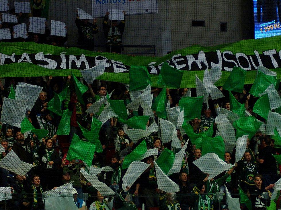 HC Energie v zeleném hostila Kladnodiváci, fanoušci