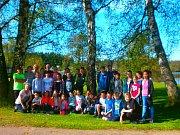 Česko - německá skupina dětí z Breitenbrunnu,Toužimi a Nové Role se na čtyři dny zapojila do společného projektu zaměřeného na historii lázeňství.