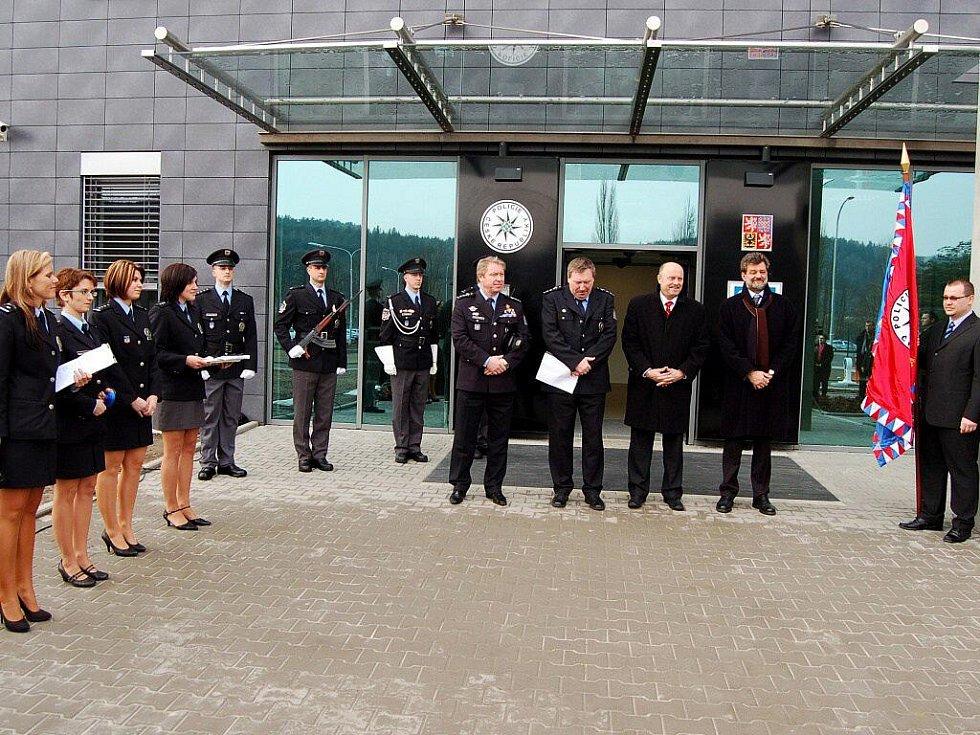 Slavnostní otevření nového policejního ředitelství v Karlových Varech