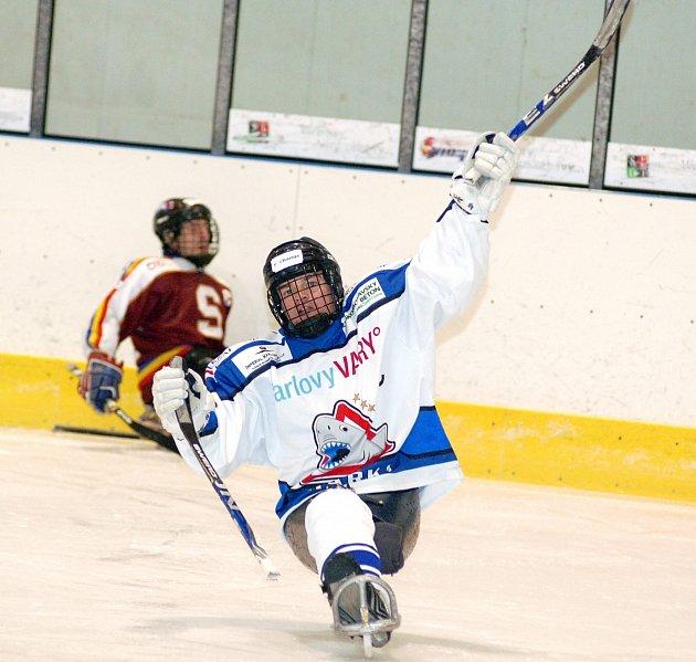 Sledge hokej: SKV Sharks - Sparta Praha 2:0