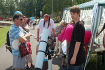Akce Den s městem ve volnočasovém areálu na Rolavě byla velmi povedená. Navštívily ji stovky lidí a přálo i počasí.