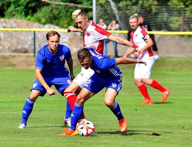 FC Slavia Karlovy Vary. Ilustrační foto