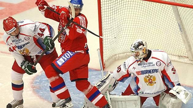 EHT: Česká republika – Rusko. Tomáš Rolínek - Kirill Koltsov, Alexander Eremenko.