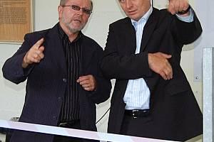 Na sklonku uplynulého týdne navštívil Karlovarský kraj ministr zemědělství Petr Gandalovič (vpravo), aby jednal o aktuálních tématech.