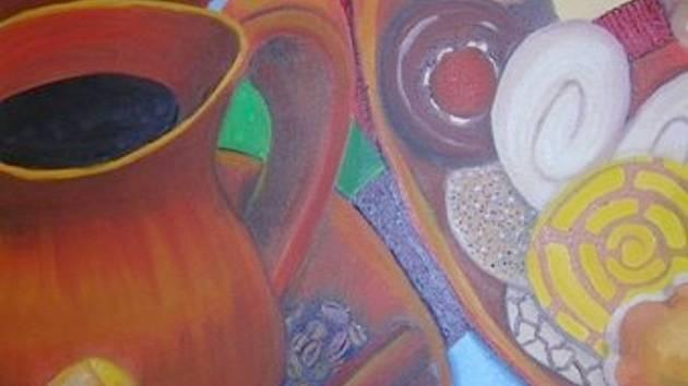 Městská knihovna Ostrov všechny zve na vernisáž výstavy obrazů malířky mexického původu Laury Eleny Rodriguez Garcidueňas s názvem Barvy Mexika.
