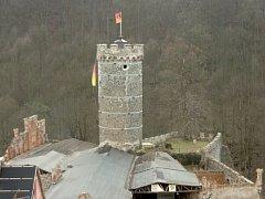 Hauenštejn, čili Horní hrad.