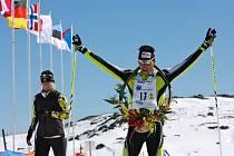 Karlovarský lyžař Petr Novák.
