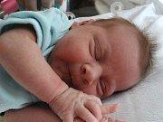 LUKAS BOČEK z Nového Sedla se narodil 26. 8. 2017
