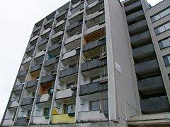 Drahomíra. Tato ubytovna potřebuje nákladnou rekonstrukci. Nyní je poloprázdná.