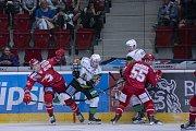 Utkání 3. kola Tipsport extraligy HC Energie Karlovy Vary - HC Oceláři Třinec