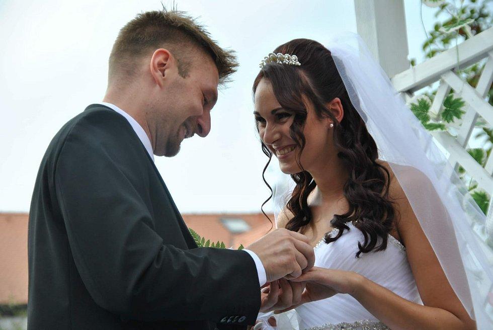 Manželé Svobodovi v před porodem. Z archivu Petra Svobody