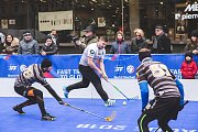 Winter street floorball.
