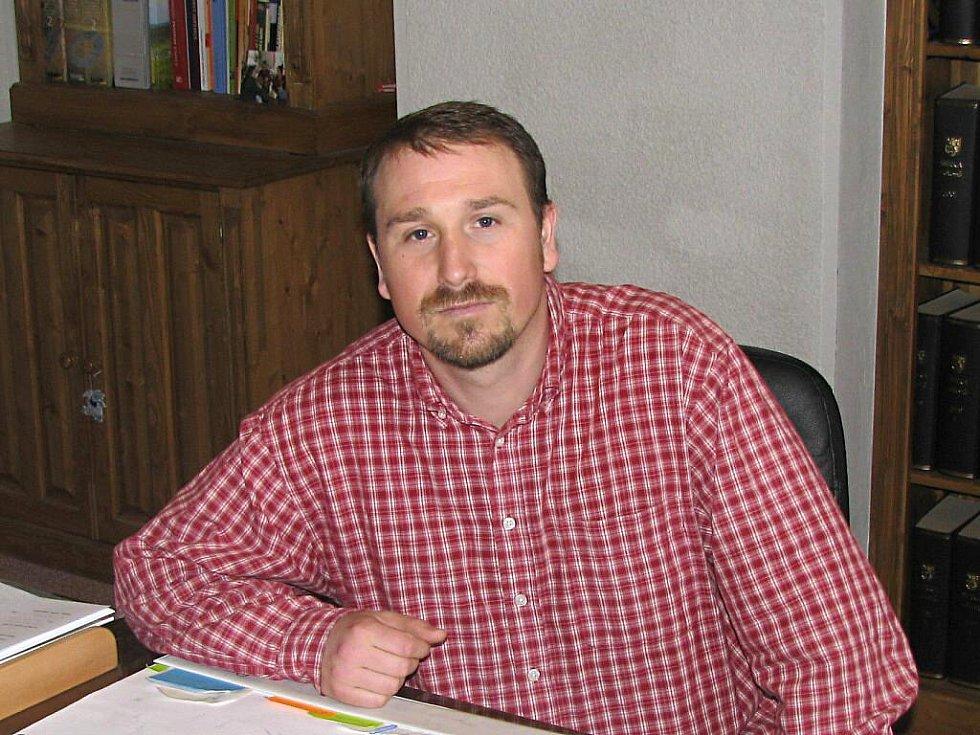 Zdeněk Lakatoš, starosta Abertam.