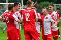 Karlovarská Slavia se představí v sobotu 11. července v utkání s Duklou B, které se odehraje na Růžáku od 10.30.