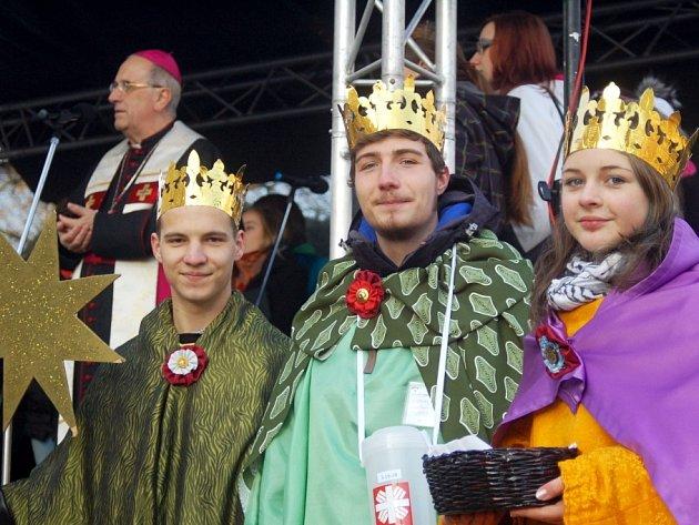Pro dobrou věc vyrazily stovky králů do ulic