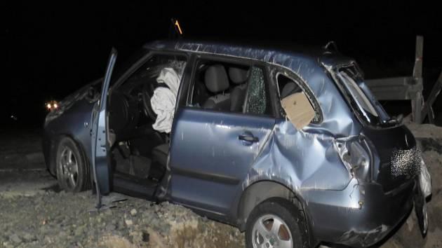 Smrtelná dopravní nehoda u Žalmanova na Karlovarsku.
