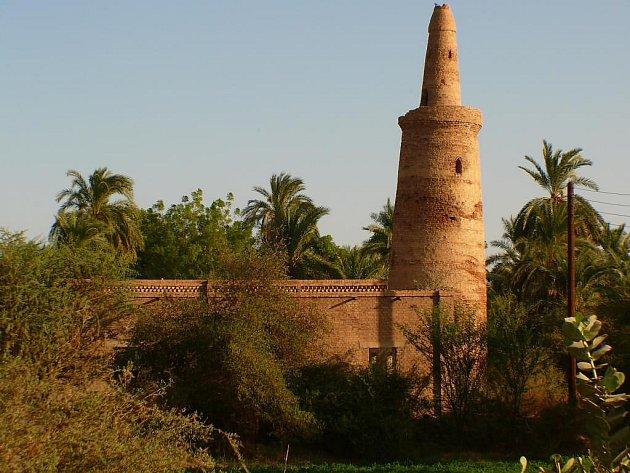 Stará mešita z bahna.