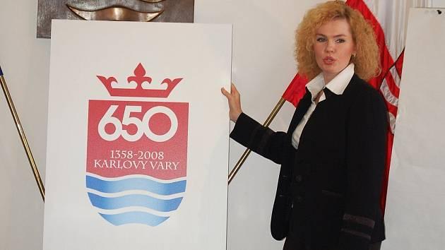 Veškeré akce v příštím roce bude doprovázet speciální logo města vytvořené k 650. výročí založení Karlových Varů.